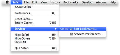 Bookmark Sorter as a Service